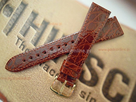 Pasek Hirsch Genuine Croco 189008.70.15mm M