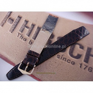 Pasek Hirsch Genuine Croco 188008.10OE.19mm M