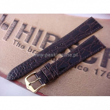 Pasek Hirsch Genuine Croco 189008.10.15mm M